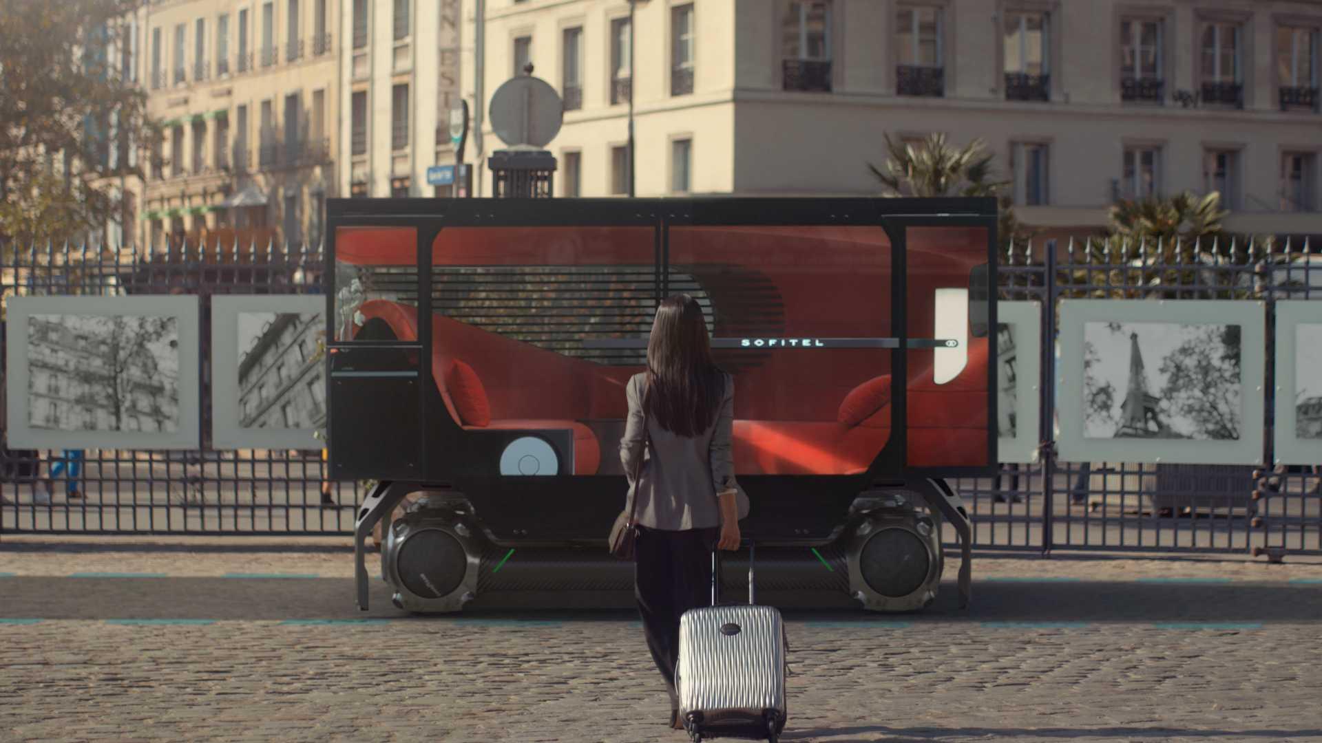 Citroen представила концепцию беспилотной транспортной платформы Skate