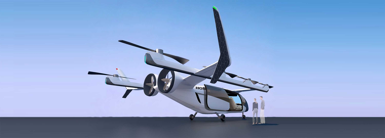 Honda создаст аппарат eVTOL вертикального взлета и посадки для междугородних перелетов