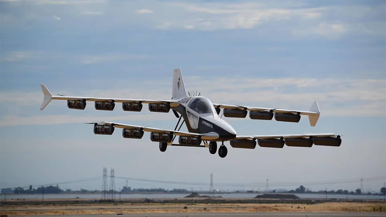 Японцы показали полет одноместного летательного аппарата вертикального взлета и посадки Mk-5