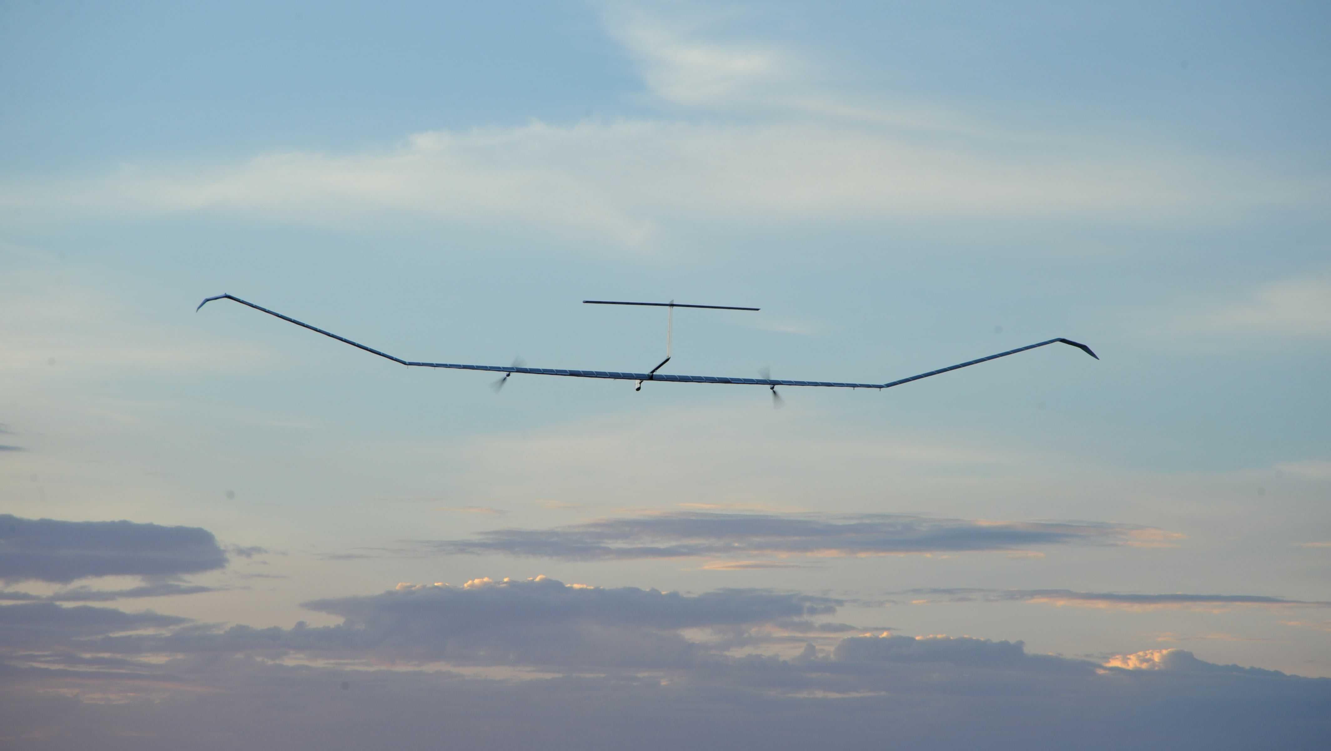 Европейский псевдоспутник Zephyr S установил рекорд высоты